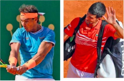 Djokovic knocked out as Nadal battles on in Monte Carlo