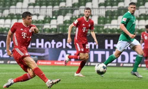 'Best in Germany': Bayern clinch eighth straight Bundesliga title