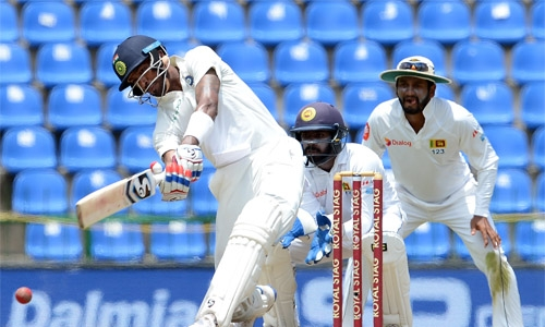 Pandya ton lifts India to 487-9 in 3rd Test