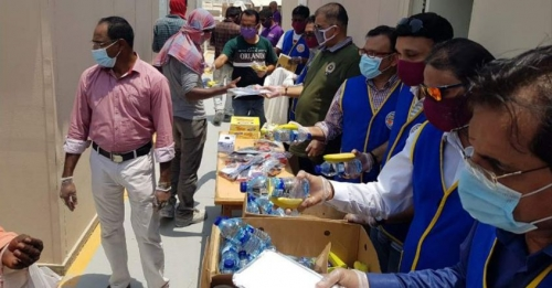 ICRF Thirst-Quenchers continue charitable initiatives