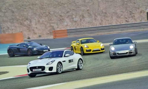 BIC set for open track event