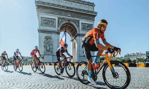 HH Shaikh Nasser lauds Team Bahrain Victorious for distinguished achievements at Tour de France 2021