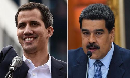 Venezuela military blocks aid shipment