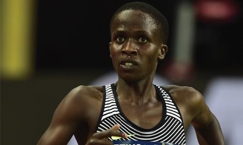 Bahrain's Ruth Jebet breaks 3000m steeplechase world record