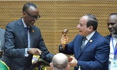 Sisi takes helm at African Union