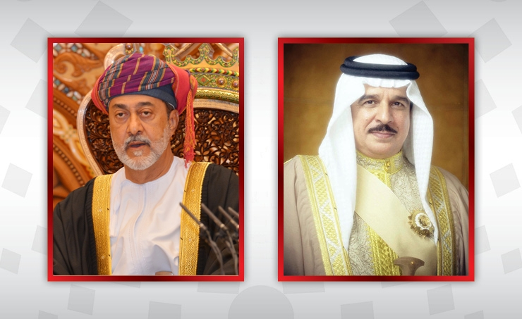 HM the King holds call with Sultan of Oman