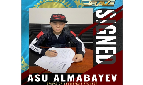 Kazakhstan's Almabayev signs with BRAVE CF