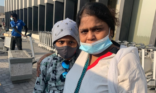 Fathima finally gets her son back