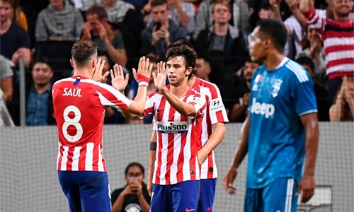 Atletico new boy Felix's double sinks Juventus