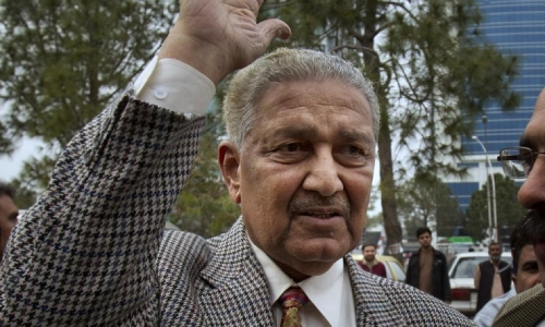 Father of Pakistan nuclear bomb dies at age 85