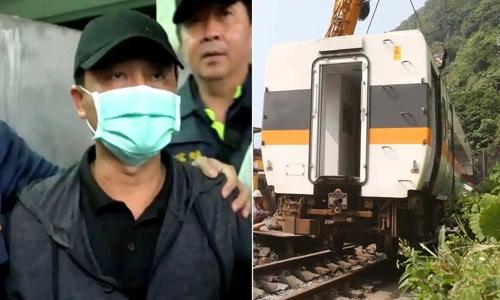 Truck driver makes tearful apology following Taiwan rail crash