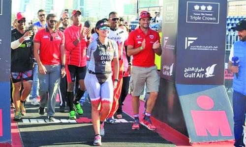 How Shaikha trains for Triathlon success