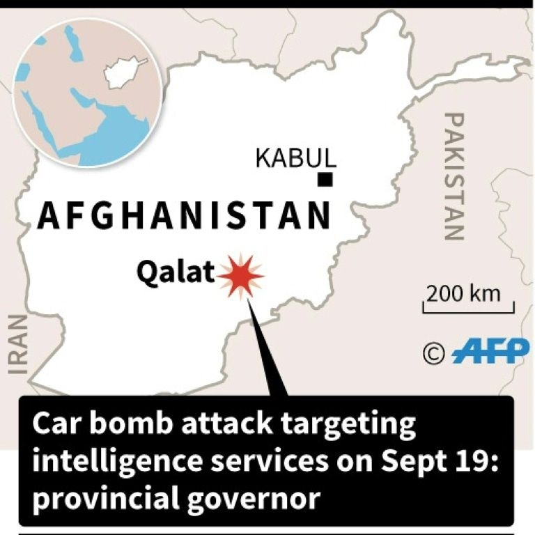 At least 10 killed in car bomb attack in southern Afghanistan