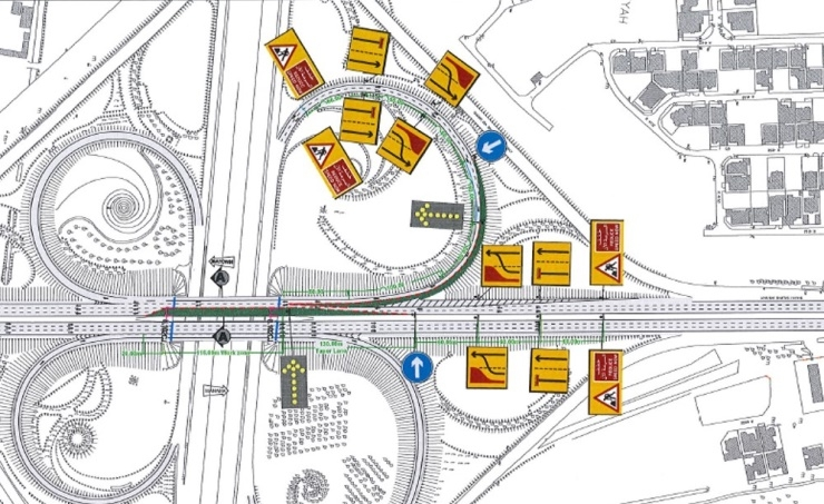Lanes on Shaikh Salman Flyover to be closed