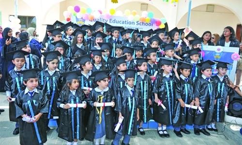 QES celebrates Graduation Day