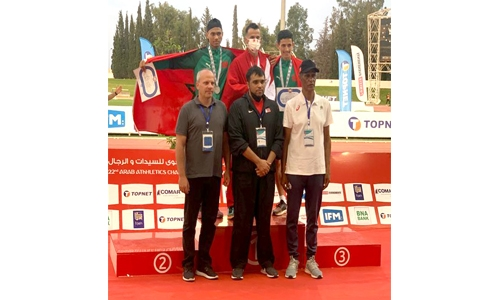 Bahrain win two more medals, with one gold, in Arab athletics