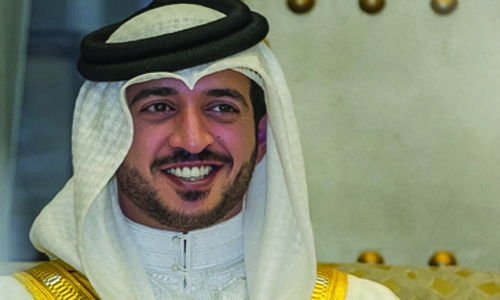 Shaikh Khalid hails HM King on Formula One Success