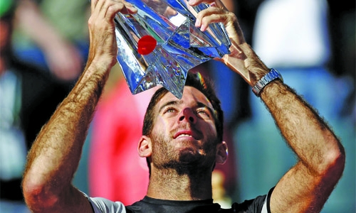 Del Potro relishing Federer showdown at Indian Wells