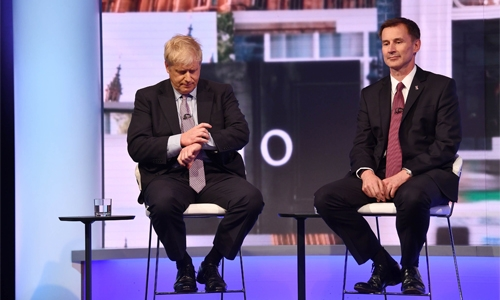 UK's Boris Johnson under pressure