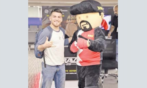 Torres arrives in Bahrain ready to make history at Brave 29