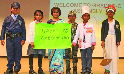 NMS-DPS celebrates labour day