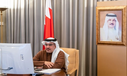 HRH the Crown Prince and Prime Minister reviews 2020 performance of EDB