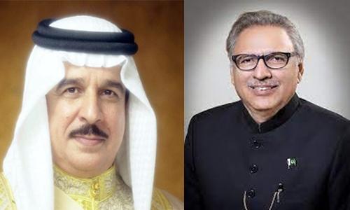 HM Bahrain King condoles with Pakistan President over train collision victims