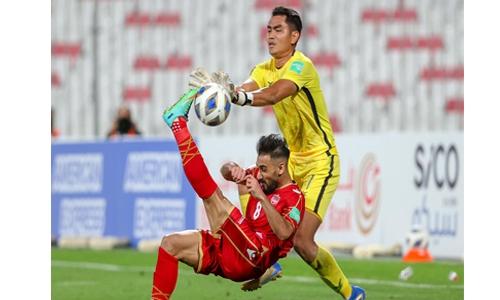 Dominant Bahrain crush Cambodia 8-0