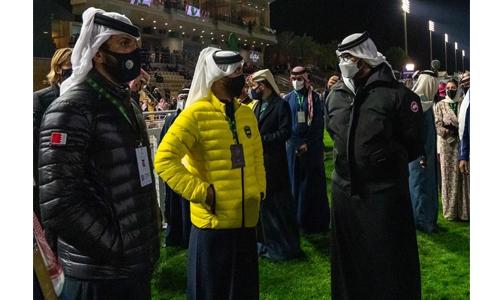 HH Shaikh Nasser, HH Shaikh Khalid and HH Shaikh Isa attend Saudi Cup