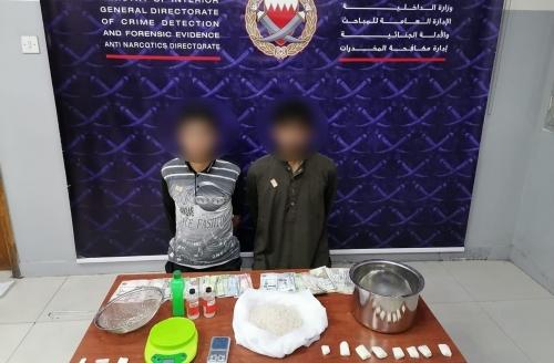 Two arrested for dealing shabu worth BD120,000