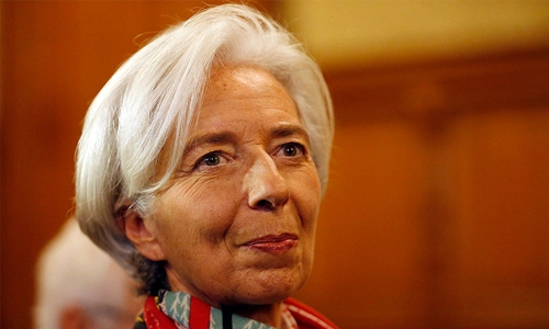 IMF chief says ready to support Pakistan