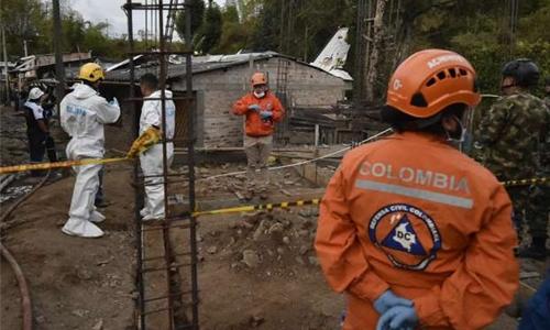 Colombia plane crash kills seven: authorities