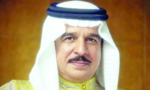 HM King Hamad receives Arab ambassadors to Turkey