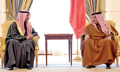 Crown Prince receives Kuwait National Assembly Speaker