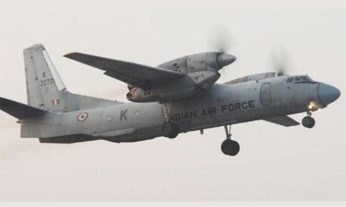 India finds wreckage of plane missing with 13 on board