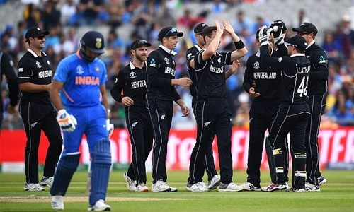 Kiwis shock India