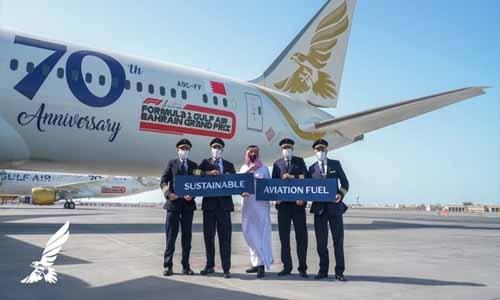Gulf Air operates transcontinental lower emission flight from Helsinki