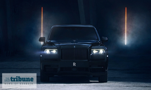 Rolls-Royce Black Badge Cullinan makes Bahrain debut