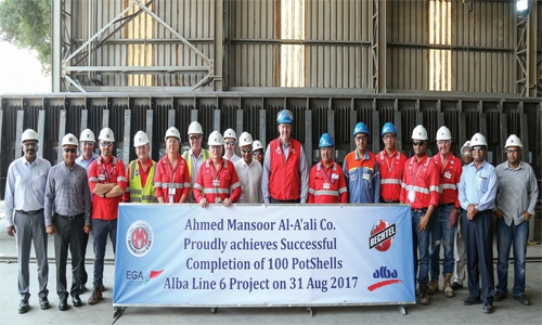 Alba Line 6 pot shell fabrication in full swing
