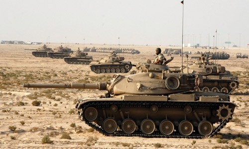 Upgraded M60 tank to be unveiled today in Bahrain