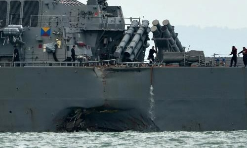 US warship collisions raise cyberattack fears