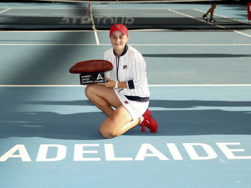 Barty fights to title victory at Adelaide