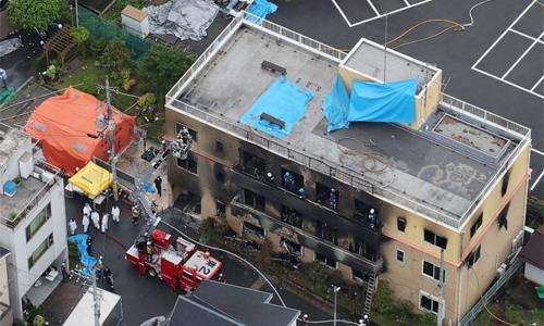 33 dead in suspected arson attack on animation studio