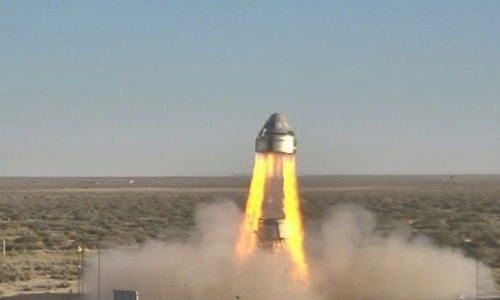 Boeing successfully tests space capsule abort system