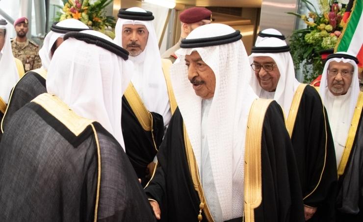 HRH Prime Minister Prince Khalifa bin Salman Al Khalifa during his visit to Kuwait