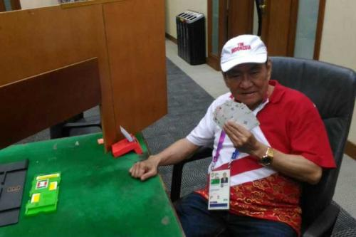 Indonesia's richest man going for gold at Asian Games
