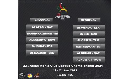 Al Najma set for Asian clubs handball