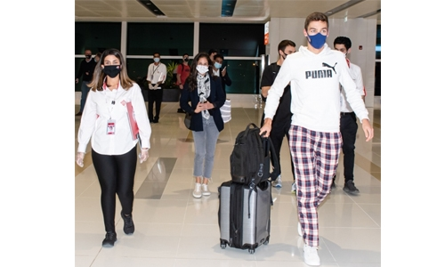 F1 stars arrive for pre-season tests