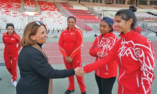 Athletes ready for GCC clash