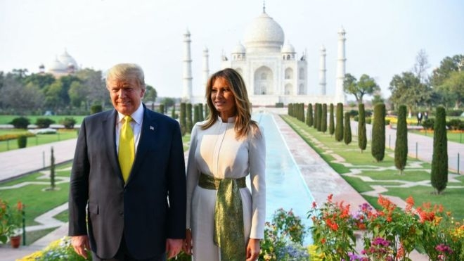 Taj Mahal: US President Donald Trump visits the 'monument of love' in Agra